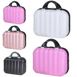 14inch Waterproof Hard Travel Organizer Cosmetic Bag Vertica