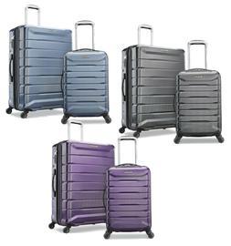 Samsonite 2 pc Hard Side Luggage Set 4 Spinner Wheel Suitcas