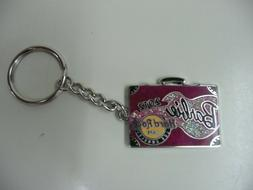 2012 BARBIE CONVENTION HARD ROCK CAFE KEYCHAIN SUITCASE