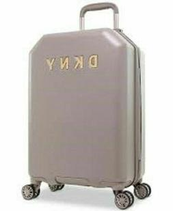 "$225 New DKNY Allure 20"" Hard Case Spinner Suitcase Luggage"
