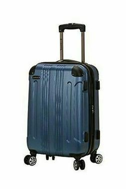 New Rockland London Blue Spinner Luggage Carry On Suitcase 2