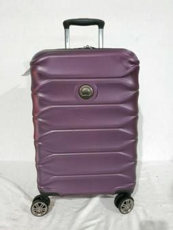 "$250 Delsey Meteor 21"" Hard Spinner Carry On Suitcase Luggag"