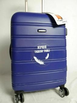 "$260 NEW Rockland Melbourne 20"" Carry On Hard Expandable Lug"