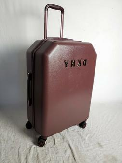 """$275 New DKNY Allure 24"""" Hard Spinner Wheel Suitcase Luggage"""