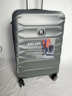 "$300 New Delsey Meteor 24"" Hard Spinner Suitcase Luggage Exp"