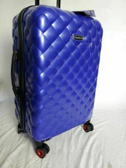 "$300 New Rockland Quilt Collection 24"" Hard case Luggage Sui"