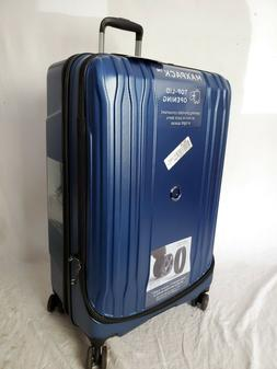 """$420 Delsey Eclipse 29"""" Hard Spinner Suitcase Luggage Expand"""