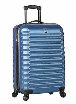 Lucas ABS Carry On Hard Case 20 inch Rolling Suitcase Set Wi