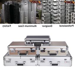 BORY Aluminum Hard Case Carrying Suitcase Home Business Tool