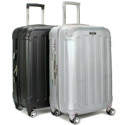 """Miami CarryOn Bariloche 24"""" Expandable Hard Shell Spinner Lu"""