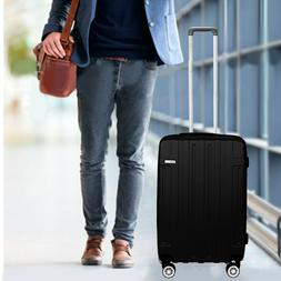 Cabin Suitcase Carry On ABS 4 Spinner Wheels Hard Shell 20""