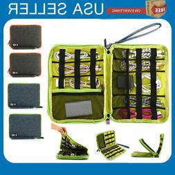 cable cord organizer electronics accessories travel bag