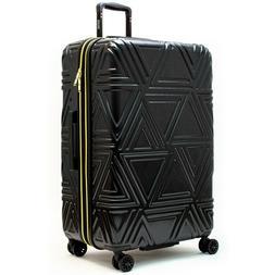 Badgley Mischka Contour Spinner Large Suitcase