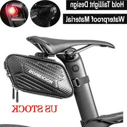 ROCKBROS Cycling Bicycle Waterpoof Seat Buckle Saddle Bag Bl