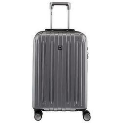 Delsey Luggage Helium Titanium, Carry On Luggage, Hard Case