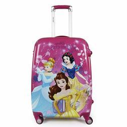 Disney Princess Group Pink 22 Inch 55.8 cm Kids Hard Luggage