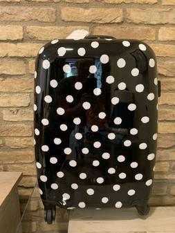 Pottery Barn Emily And Meritt Hard Sided Polka Dot Carry On