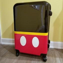 Genuine Disney Store Mickey Mouse Rolling Hard Shell Suitcas