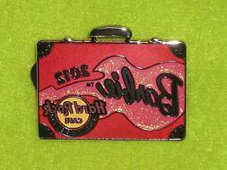 Hard Rock Cafe Pink Barbie Convention Suitcase Briefcase Los