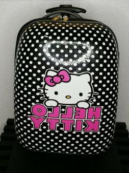 Hello Kitty Hard Shell Girls Overnight 2 WHEELS Rolling Suit