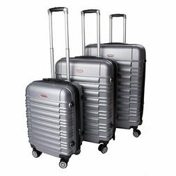 hard suitcase 3 pieces set with combination
