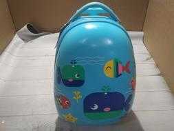 NEWCOM Kids Luggage Boys with Wheels Rolling Suitcase Hard C