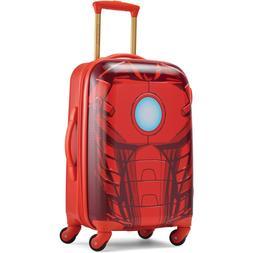 Kids Travel Hard Case Suitcase Iron Man Disney Roller Wheels