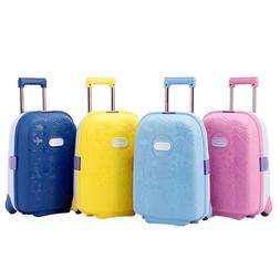 Kids Travel Luggage Suitcase Trolley Cabin Hard Lightweight