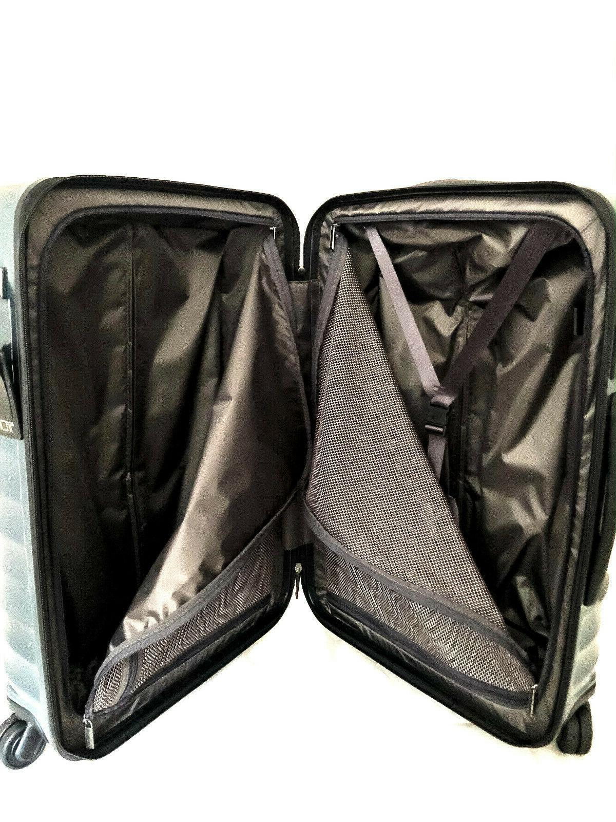 Tumi Short Spinner Suitcase Glacier Blue