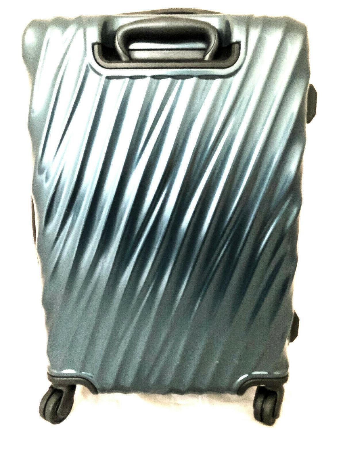 Tumi Polycarbonate Short Trip Hard Spinner Suitcase Glacier