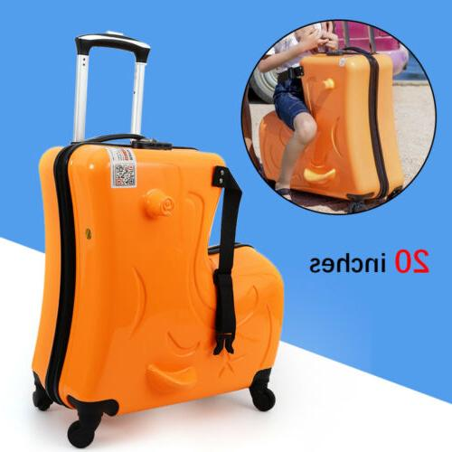 On Suitcase Luggage Waterproof Hard Travel