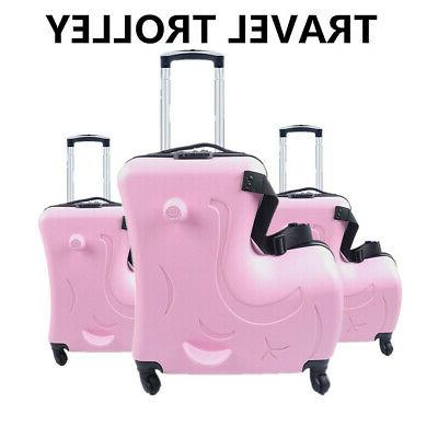 20 trolley case luggage hard shell suitcases