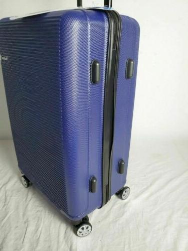 "New Rockland 24"" Hard Luggage Blue"