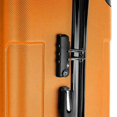 3 Pcs Luggage Set ABS Bag Suitcase Shell