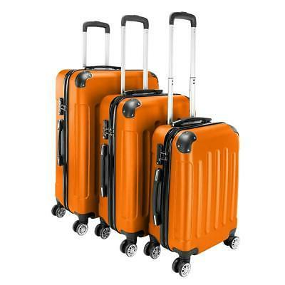 3 Pcs Set ABS Spinner Suitcase