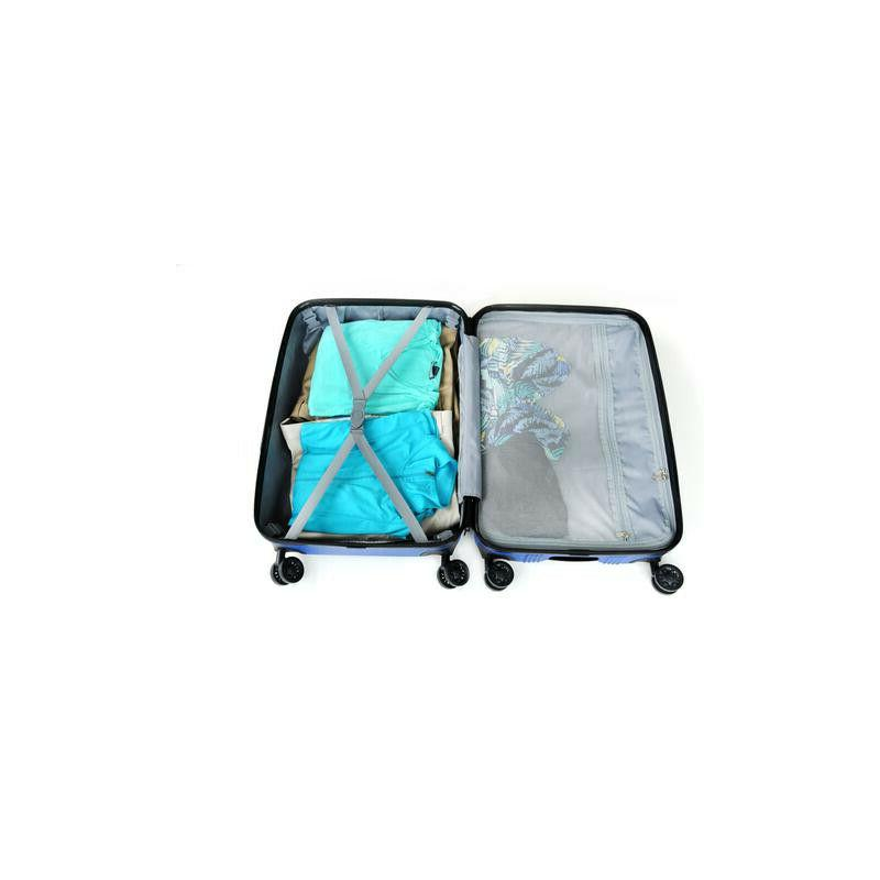 3 Piece Hard Spinner Wheels Suitcase With Travel