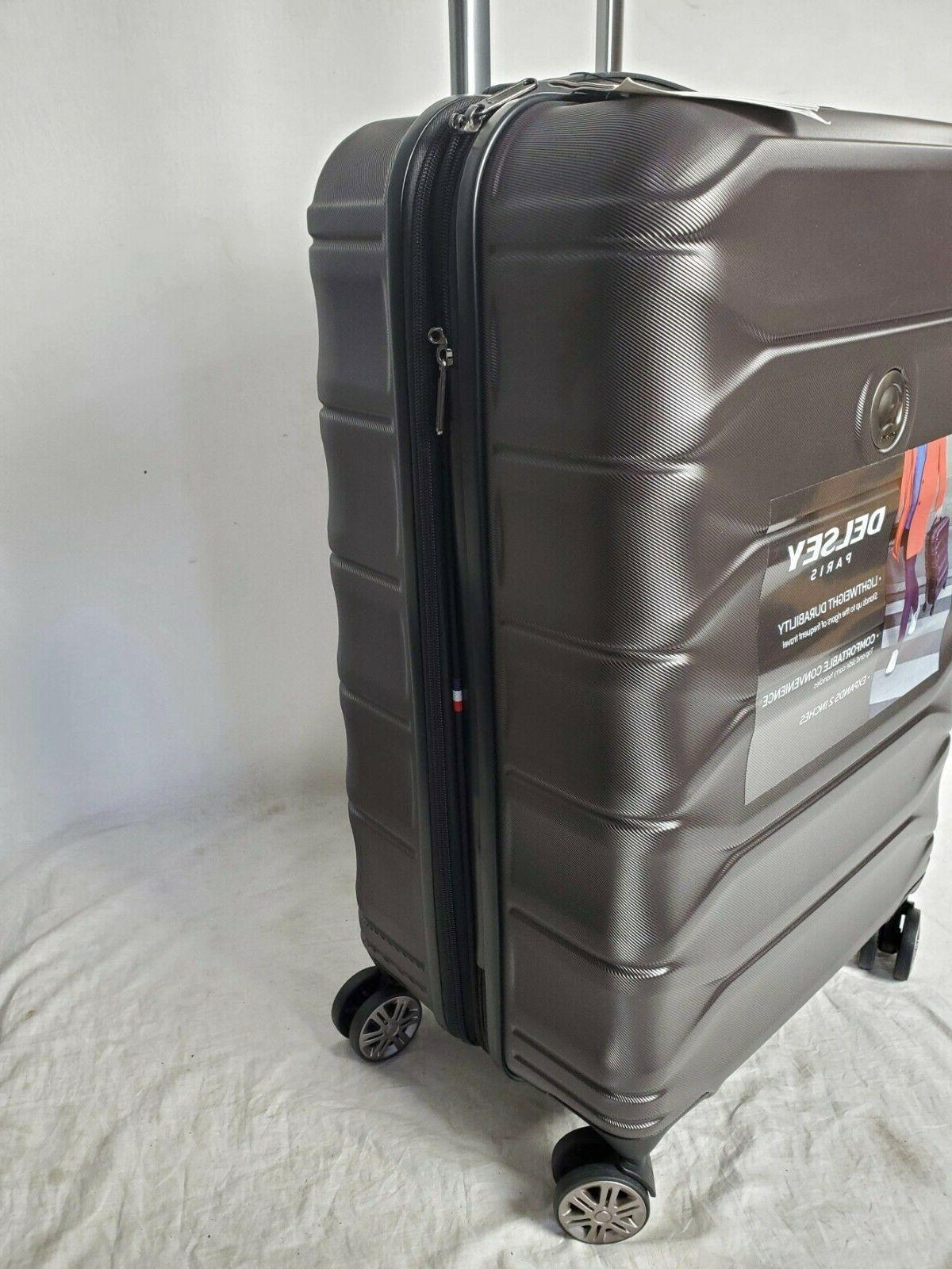"$300 Delsey 24"" Suitcase Luggage Expandable"