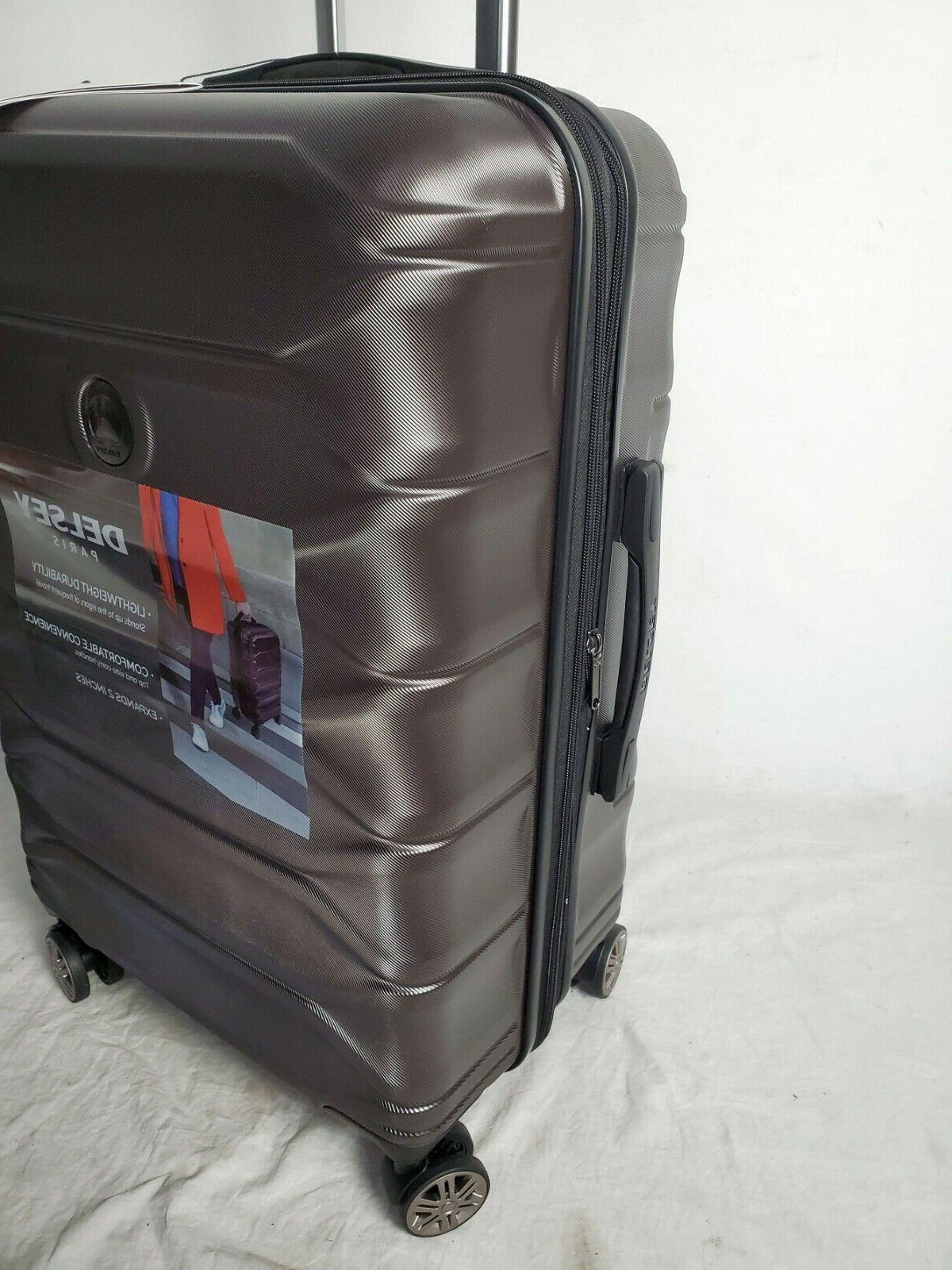 """$300 New 24"""" Shell Suitcase"""