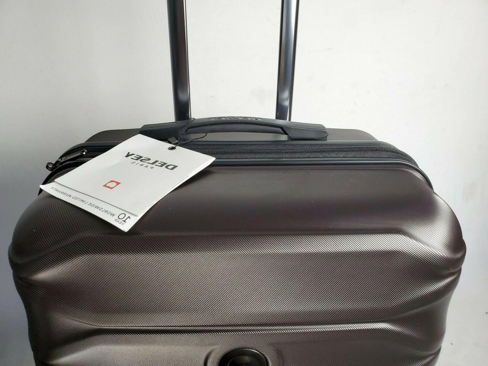 """$300 New Delsey 24"""" Spinner Suitcase Luggage Expandable"""