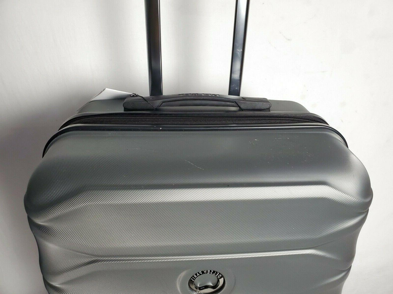 """24"""" Hard Spinner Luggage Expandable Graphite"""