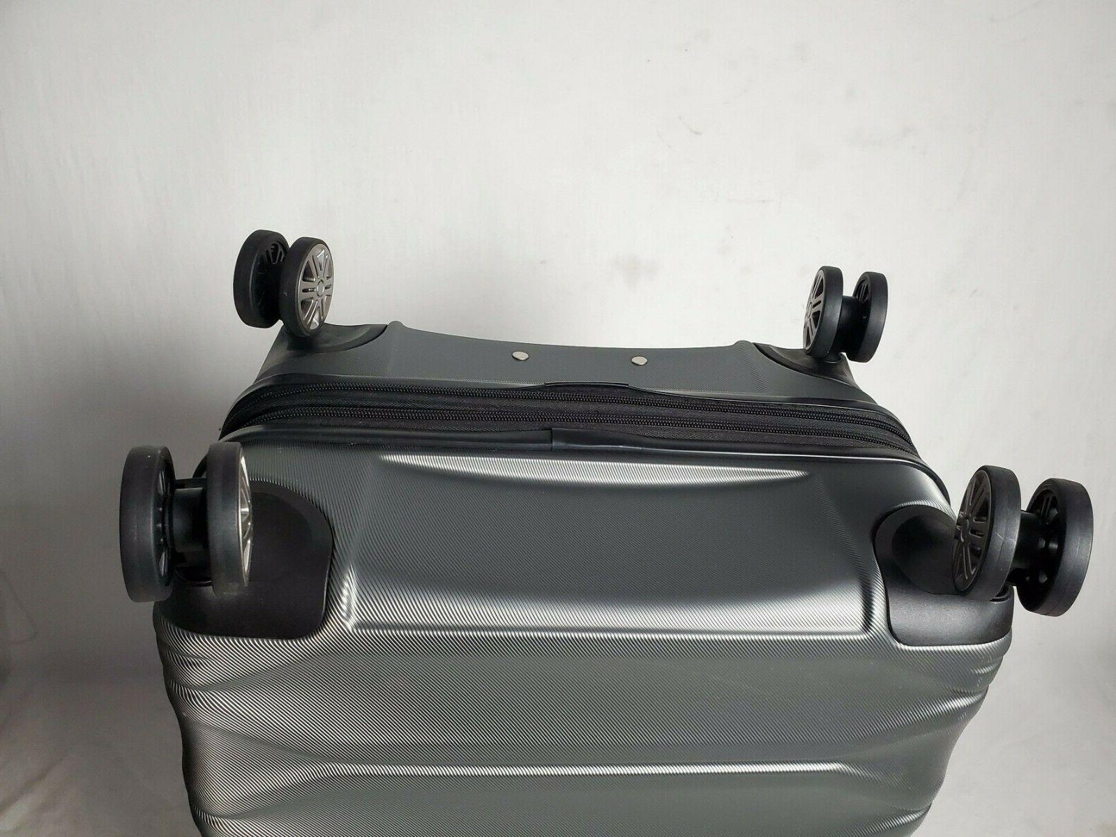 "$300 Delsey Meteor 24"" Suitcase"
