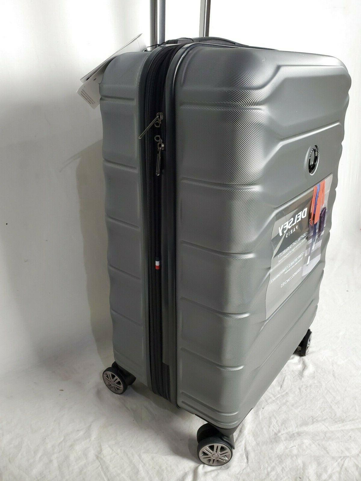 """$300 24"""" Luggage Expandable Graphite"""