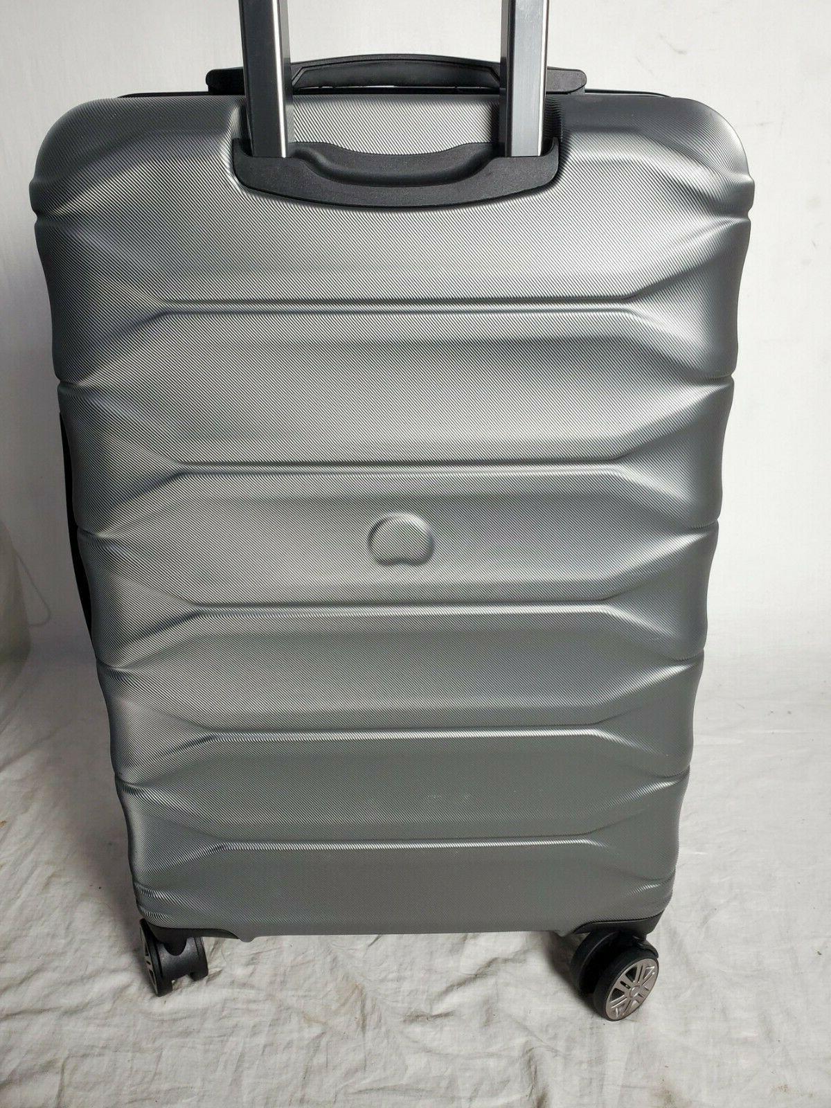 """$300 Meteor 24"""" Hard Suitcase Luggage Expandable"""