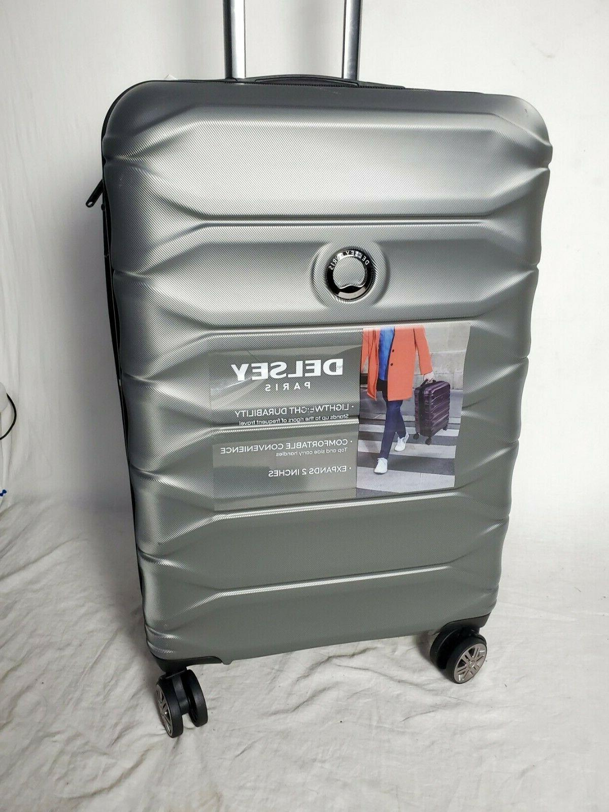 300 new meteor 24 hard spinner suitcase