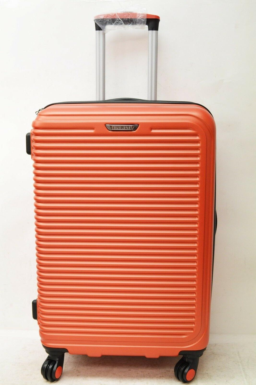 $360 NEW Travel Select Savannah Spinner Luggage Suitcase