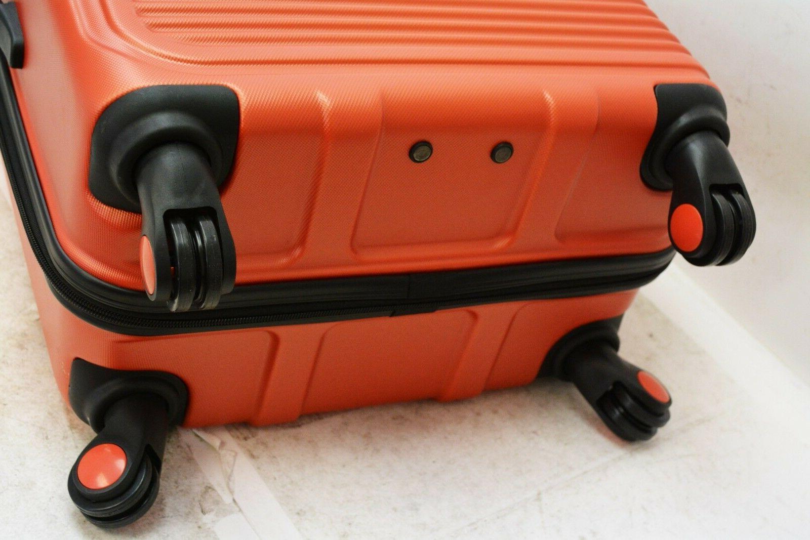 "$360 NEW Travel Select Savannah 24"" Hardside Spinner Luggage Suitcase"