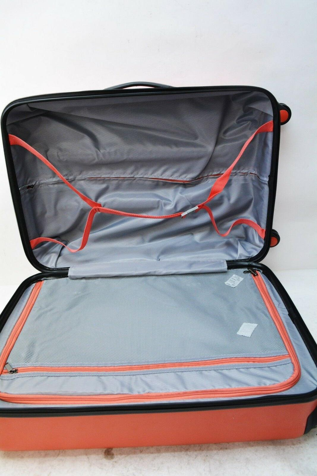 "$360 NEW Savannah 24"" Luggage Suitcase Bag"