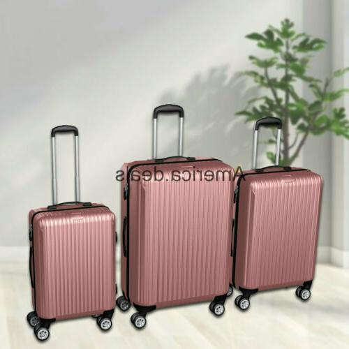 ABS Luggage Hard Rolling Durable 20inch 24ich 28inch
