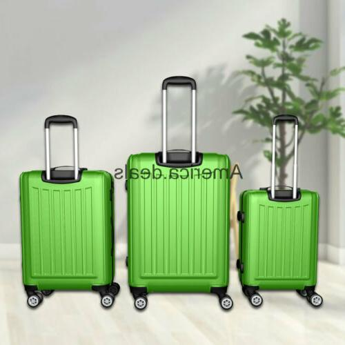 ABS Luggage Rolling Suitcase Lightweight
