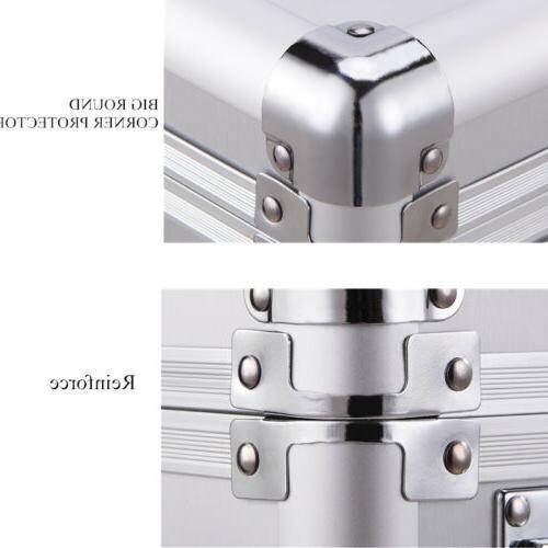 Aluminum Case Big Capacity Password Men Briefcase Pocket